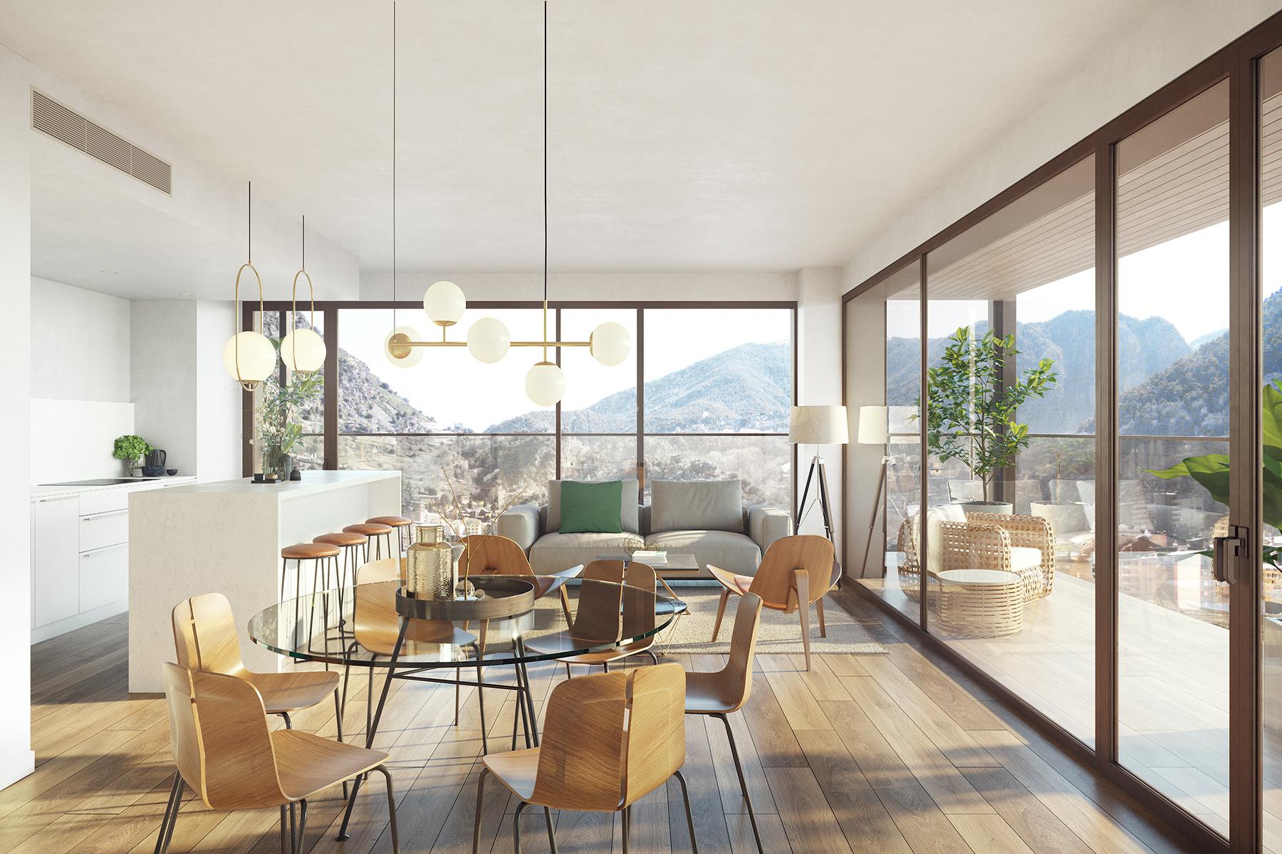 Exclusiu apartament per comprar a Escaldes-Engordany